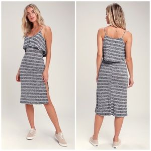 Lulus Castaway Midi Dress